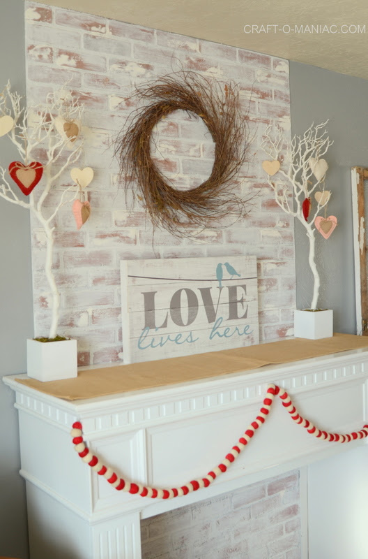 Get Your Living Room Ready for Valentine's Day with This Easy DIY