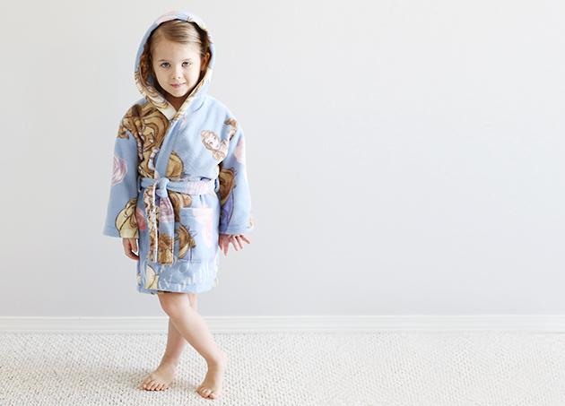 hooded robe