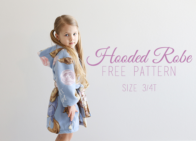 DIY Hooded Robe With Free Pattern