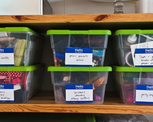 organize your craft space