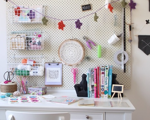 Clever Hacks to Organize Your Craft Space