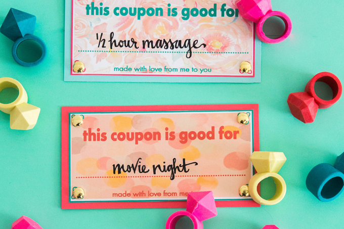 Printable Valentine's Day Coupons