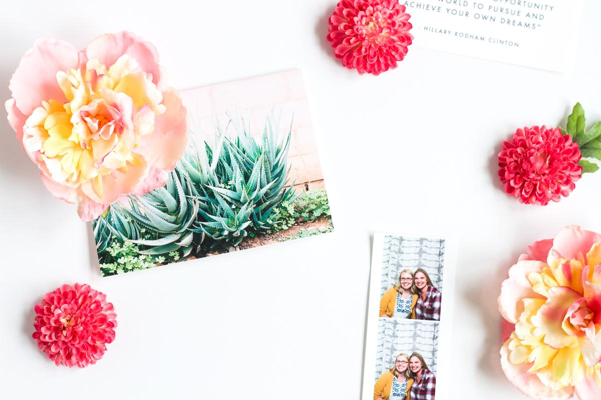 DIY Flower Magnets