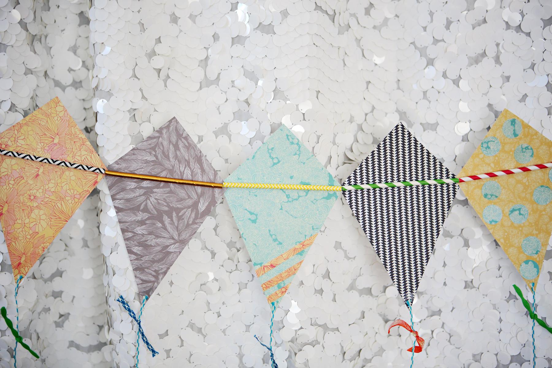 Spring Kite Bunting