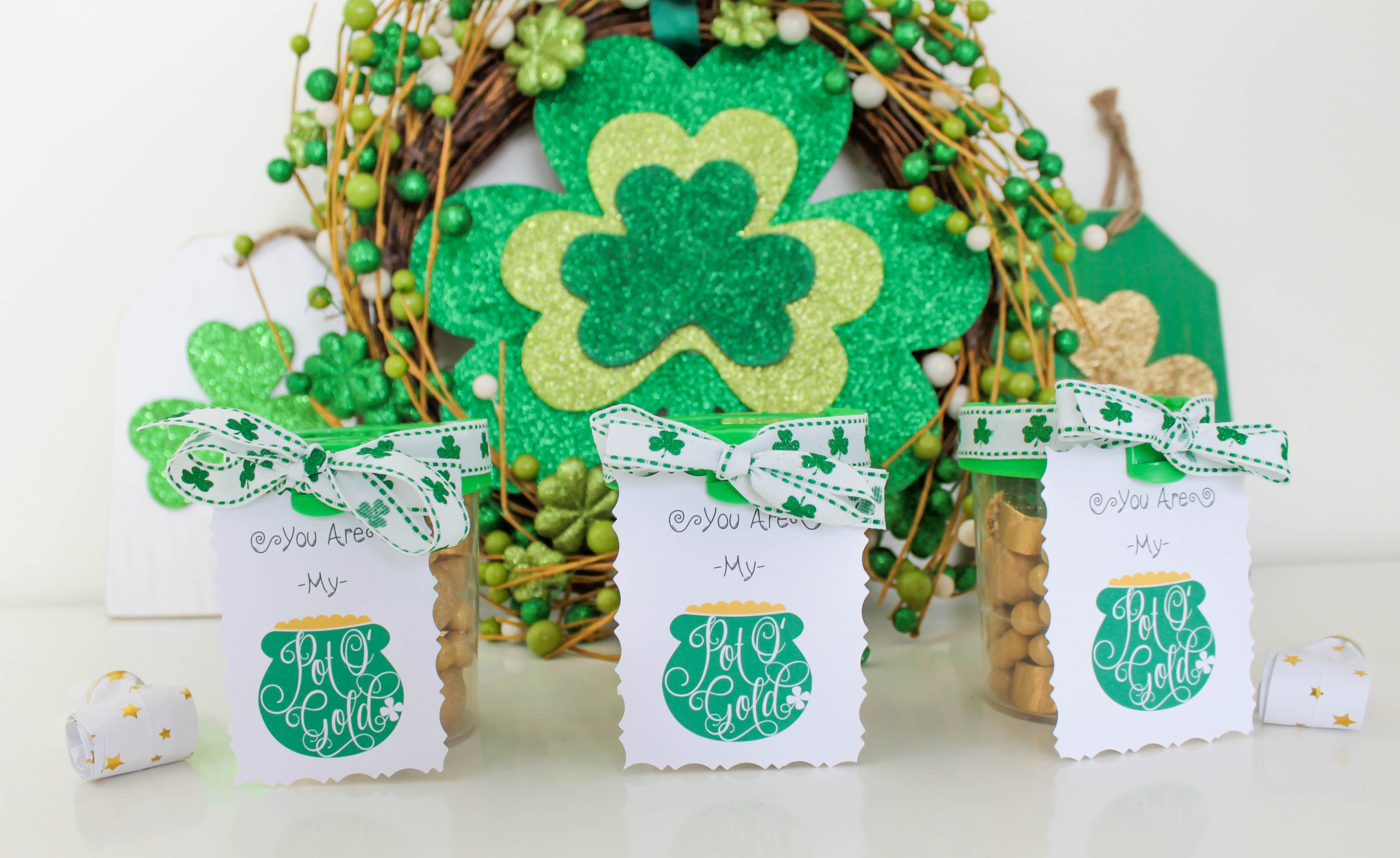 Pot O' Gold St. Patty's Classroom Favors