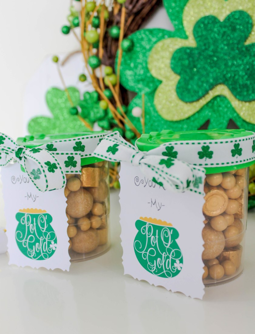 St Pattys Day Classroom Favors