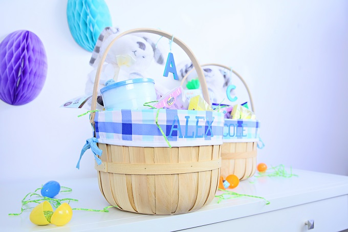 Personalize Easter Baskets and Bunnies With Cricut Explore Air 2