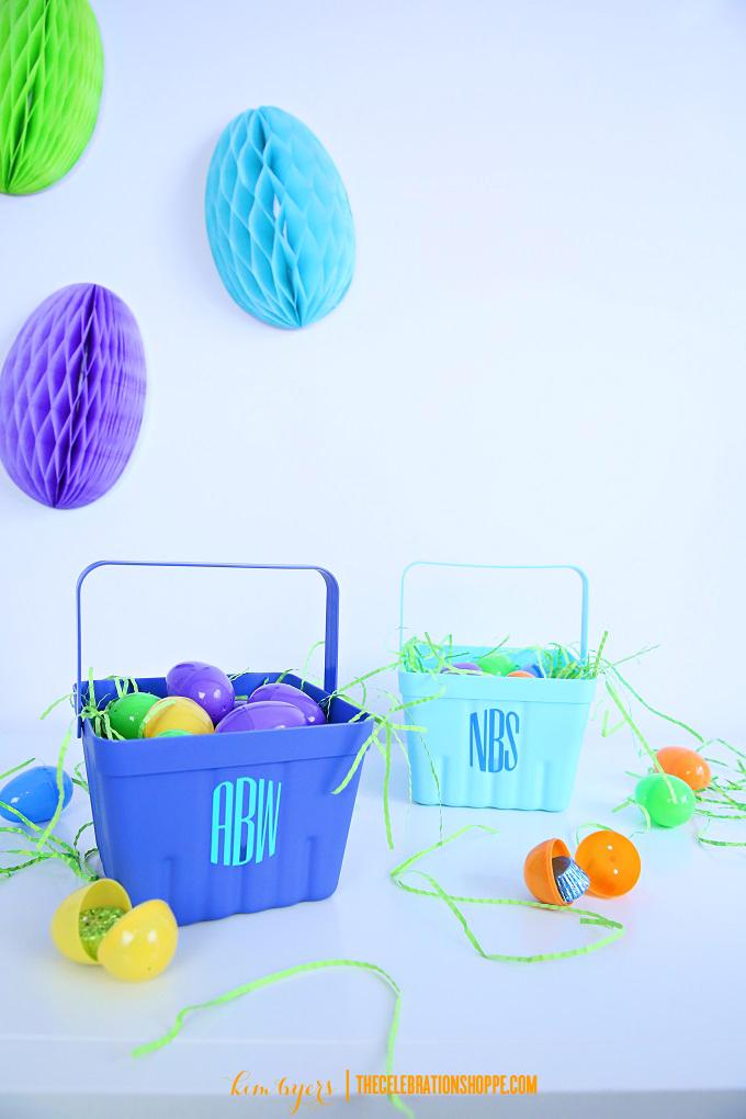 Cricut Easter basket