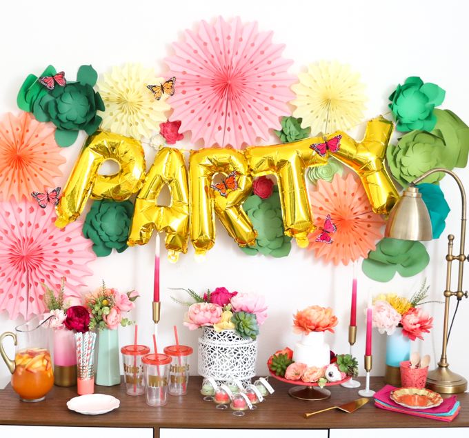Colorful Spring Bridal Shower