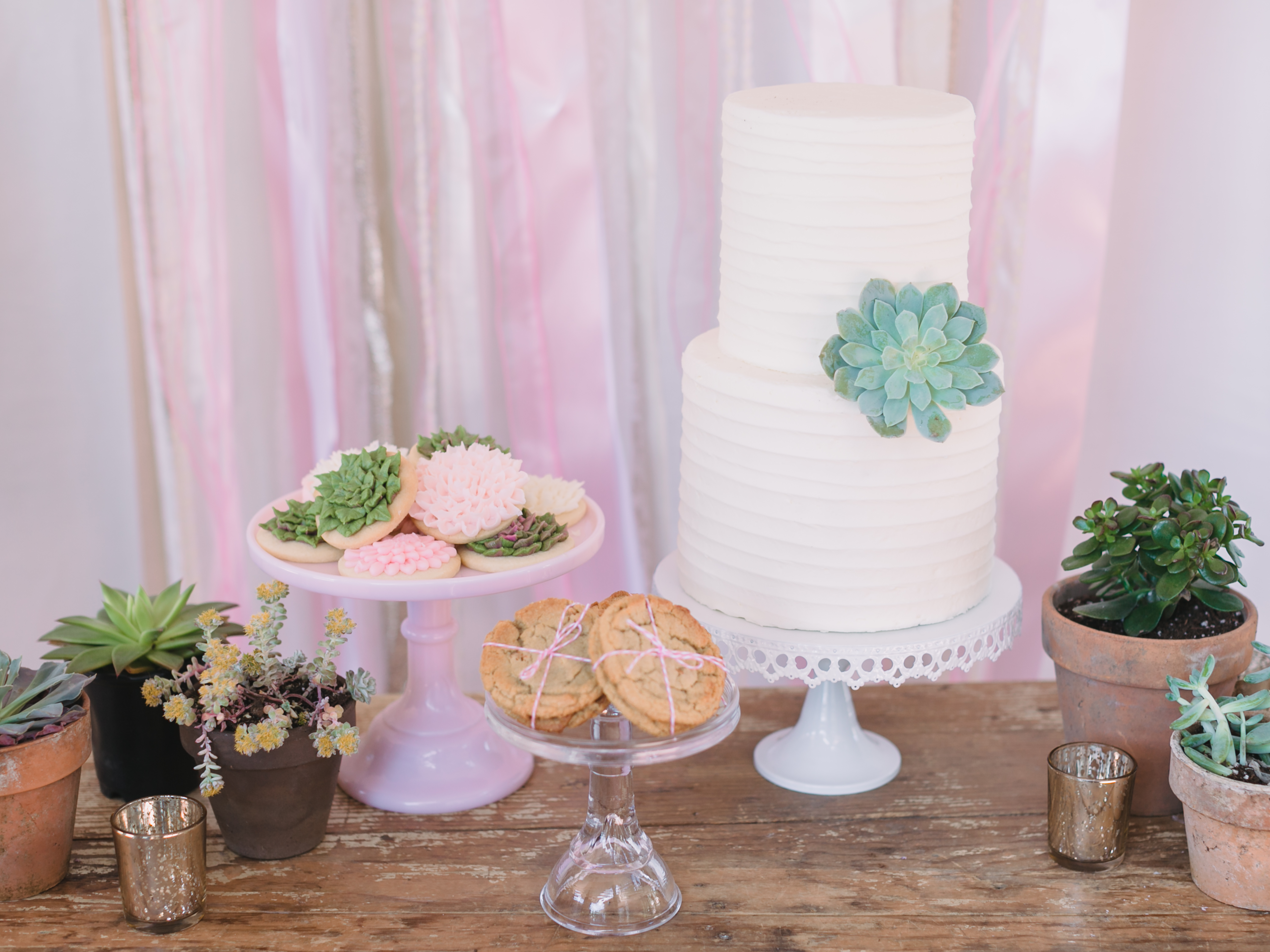 Make the Perfect Dessert Table for Your Wedding With This Easy DIY