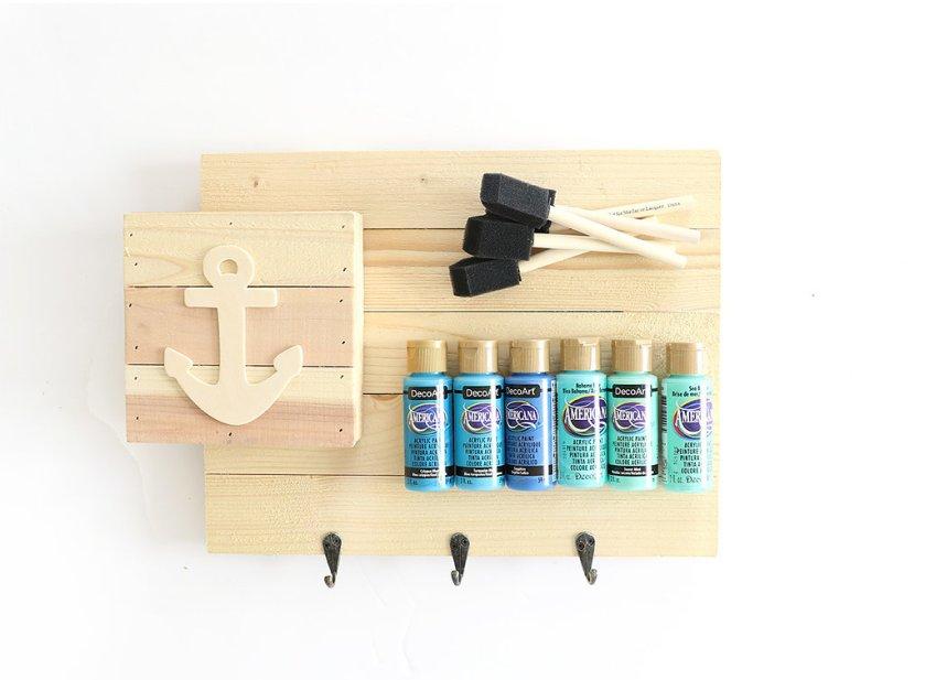beach wood art