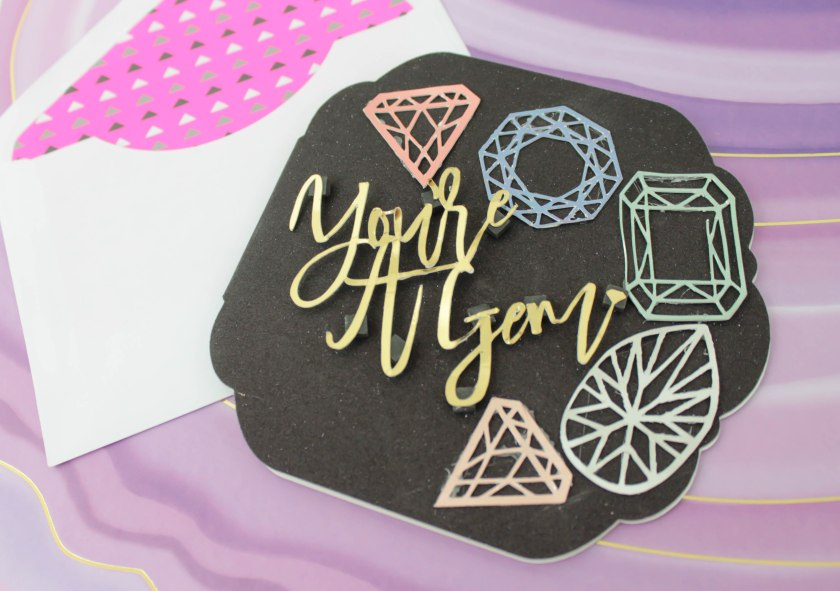 Youre a gem card