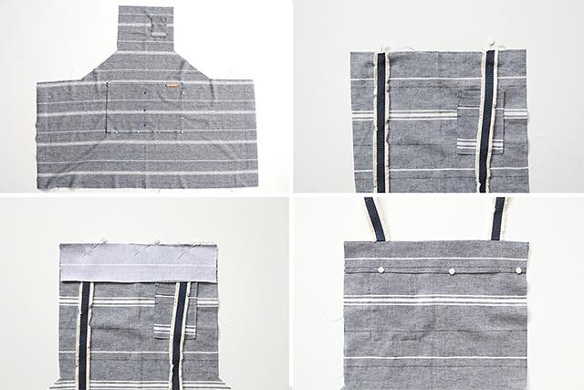 modern apron