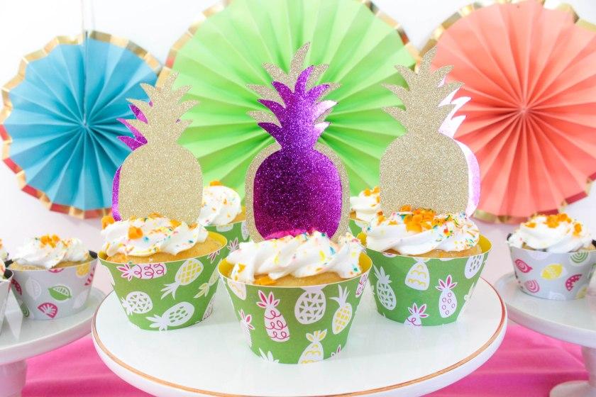 Summer Cupcakes With Cricut