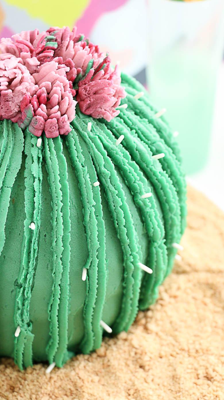 Bake a Cactus Cake