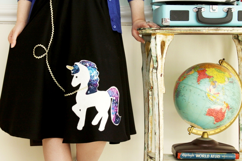 Fifties Unicorn Skirt