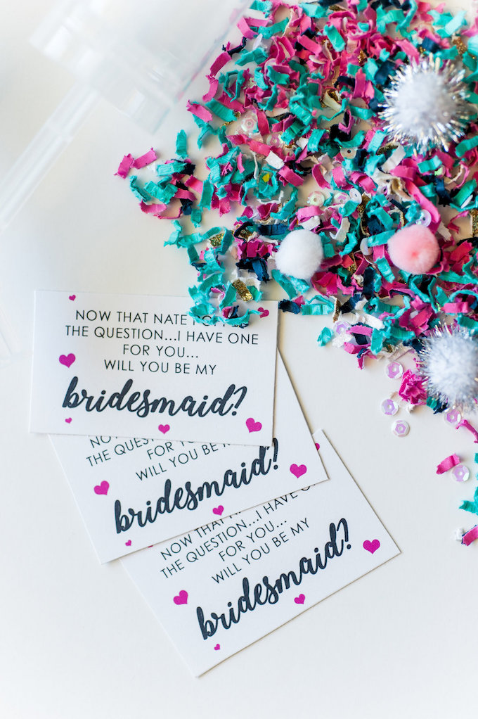 bridesmaid proposal brunch