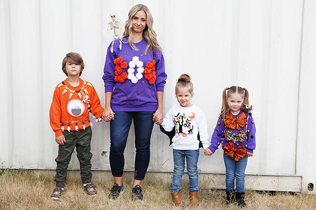 ugly halloween sweaters