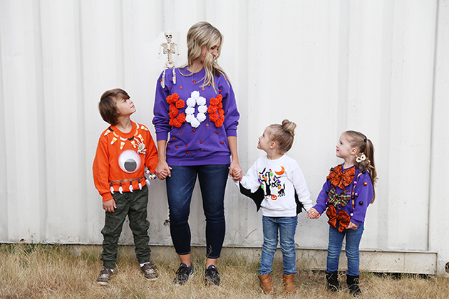 How to Make Ugly Halloween Sweaters