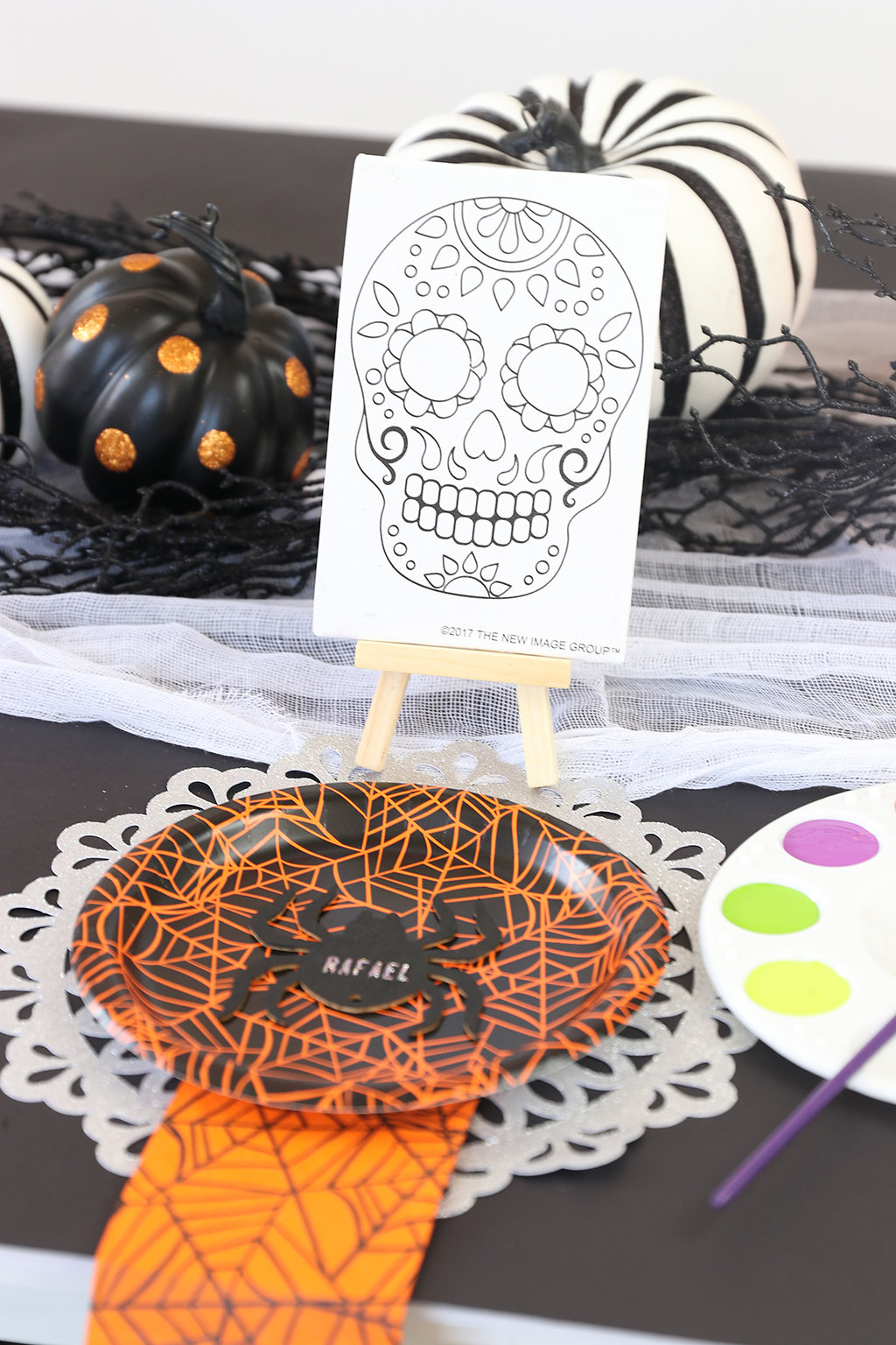 DIY Upscale Kids Halloween Party
