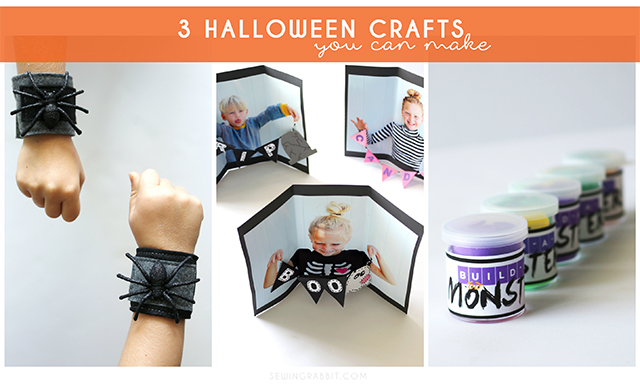Easy to Make DIY Halloween Kids Crafts
