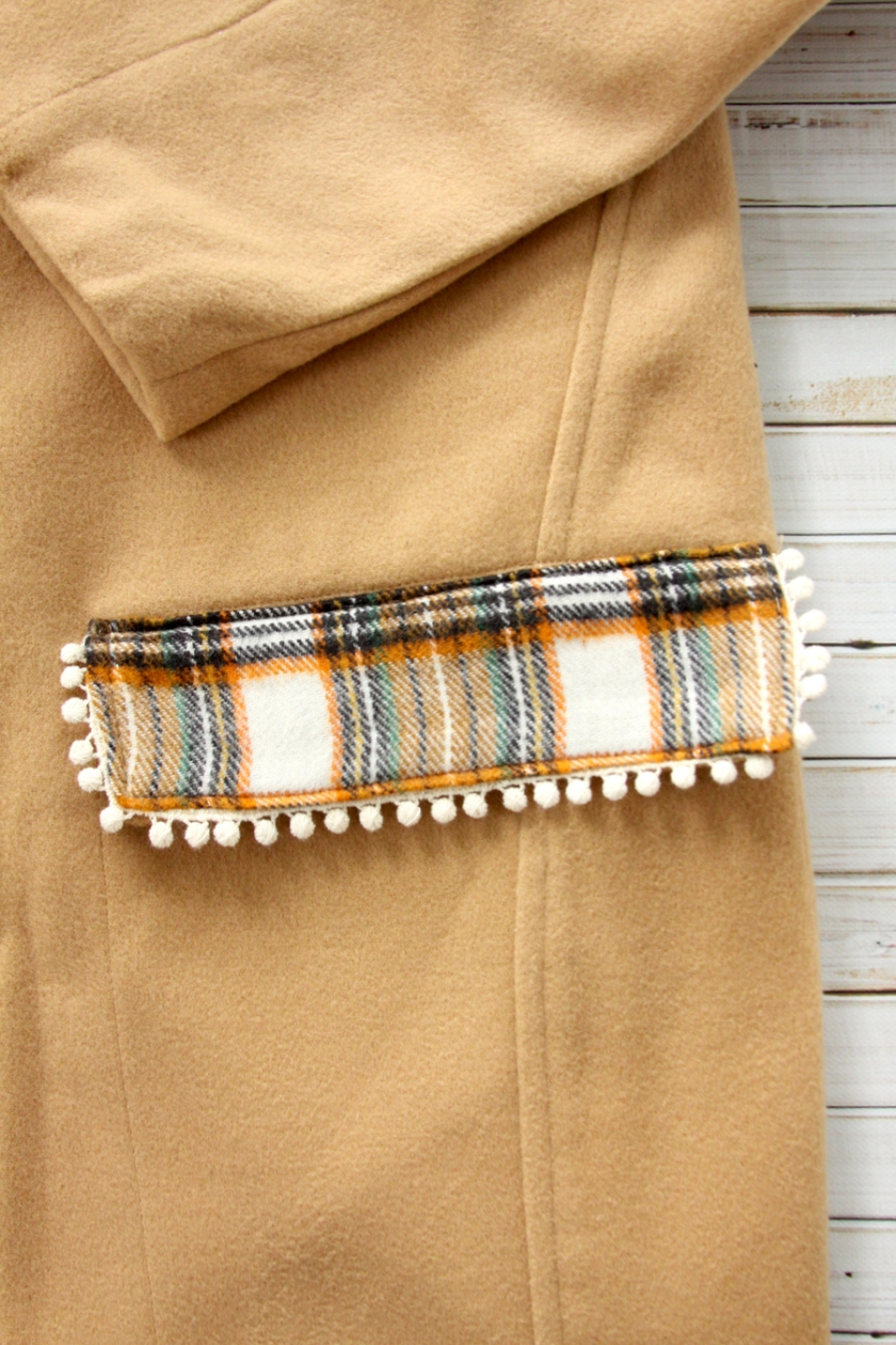 Flannel Coat Refashion