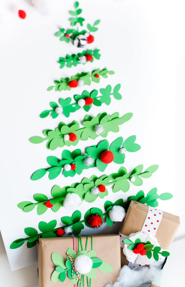 Holiday Paper Tree