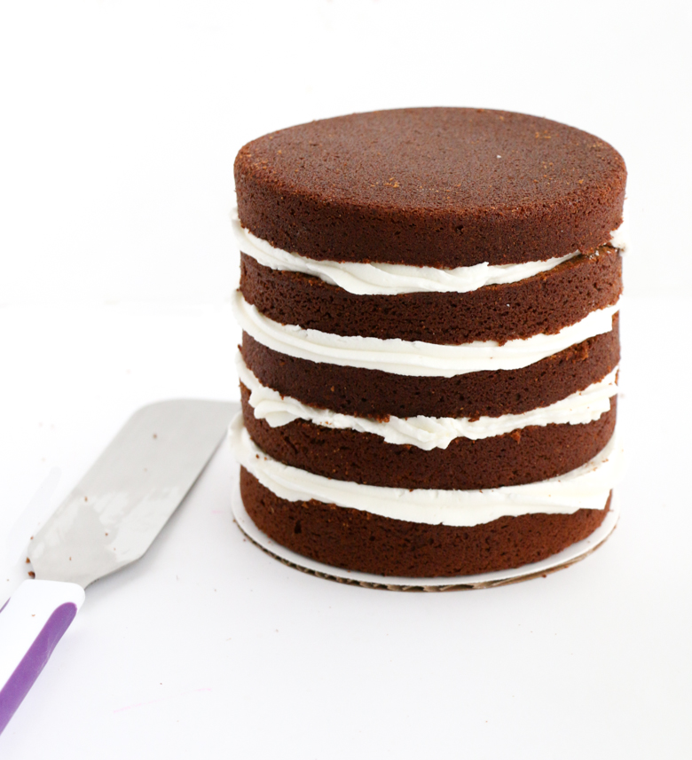 Gingerbread Naked Cakes-3
