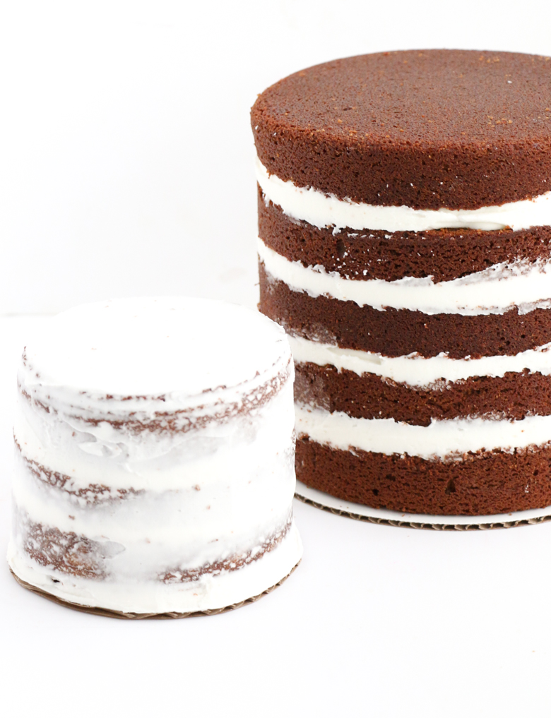 Gingerbread Naked Cakes-4