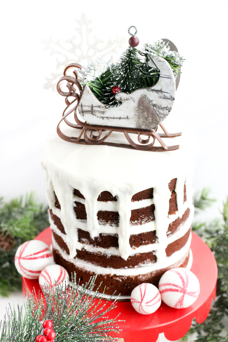 Gingerbread Naked Cakes-7