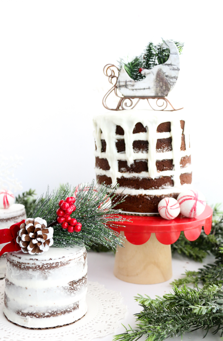 Gingerbread Naked Cakes-9