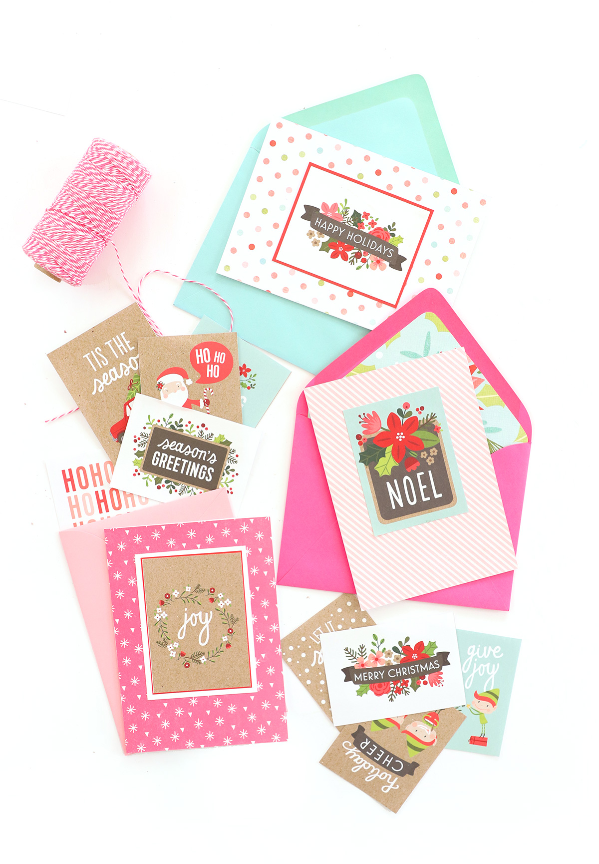 Paper Crafted Holiday Cards