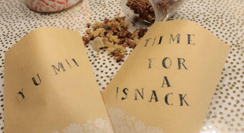 Granola Bite bags (5)