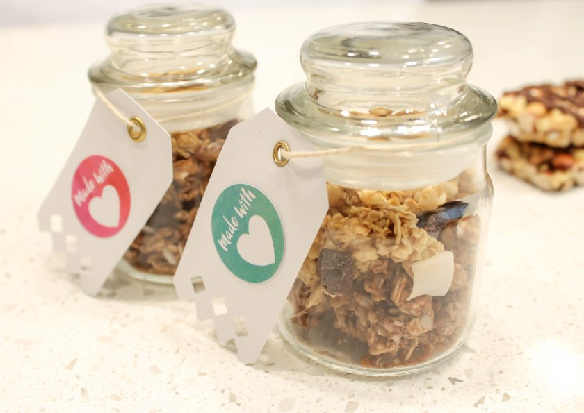 Granola jars granola gifts (1)