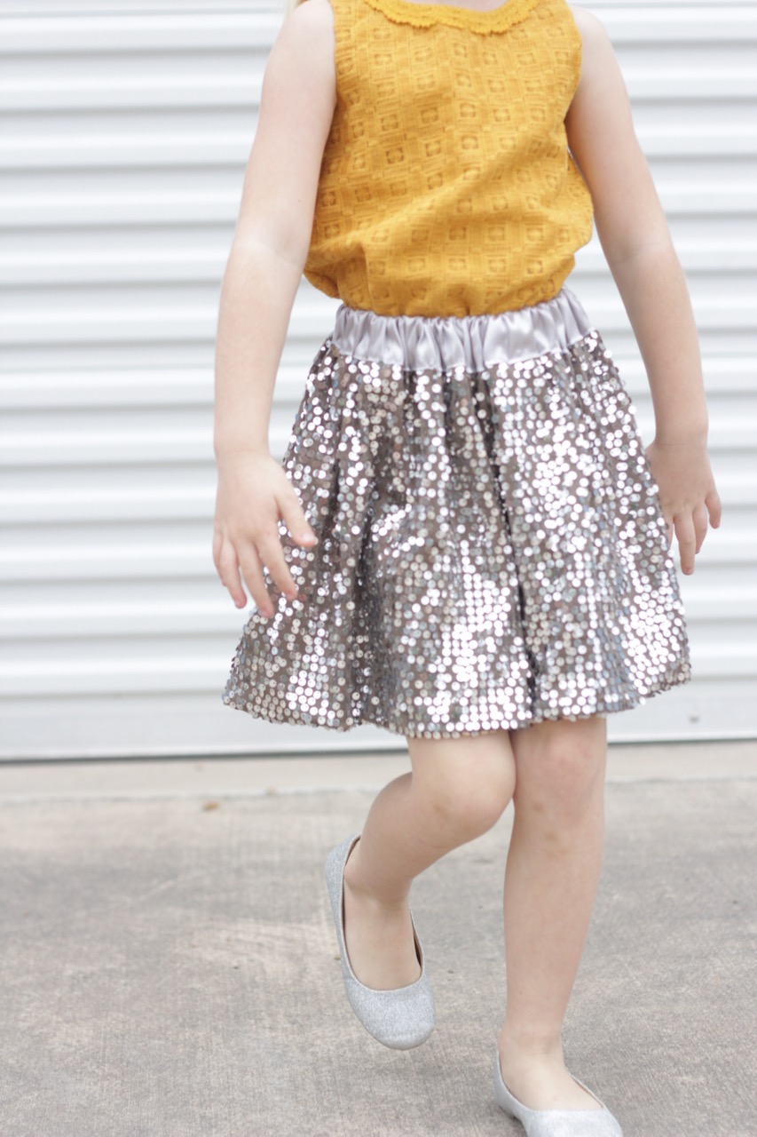 How to sew a Fancy Skirt