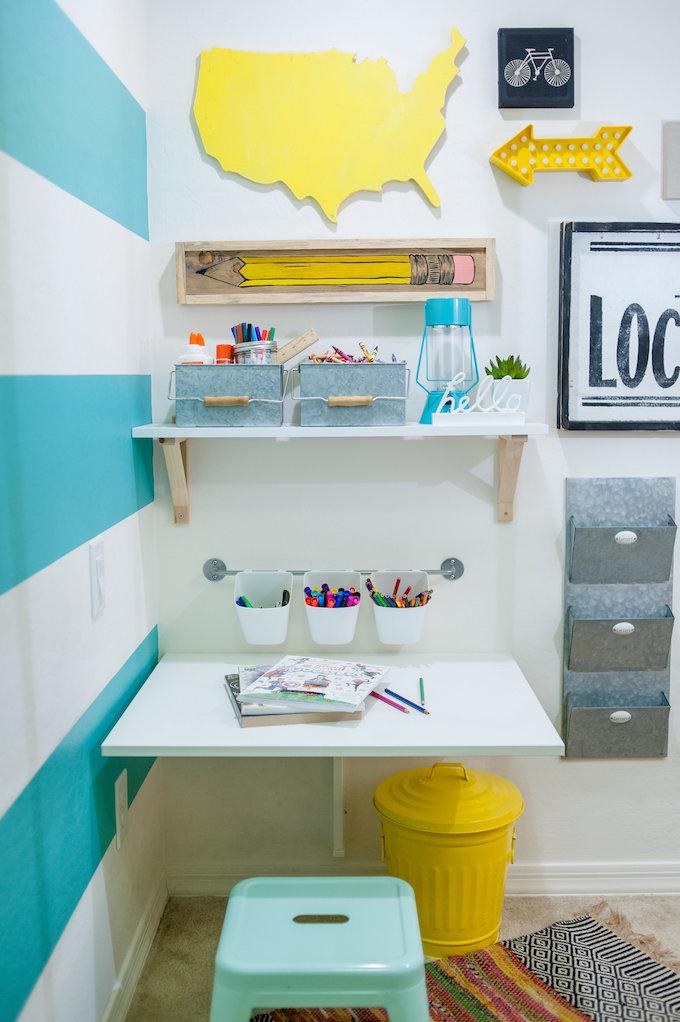 Kid's Craft Closet