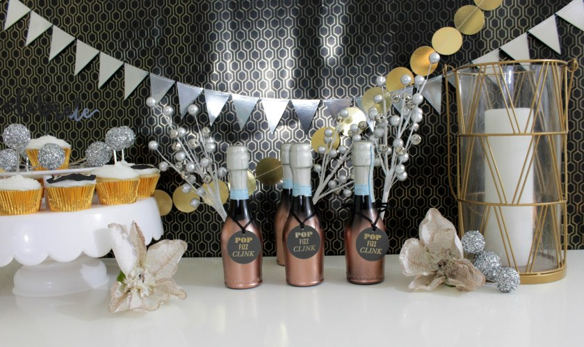 New Years eve Champagne favors (4)
