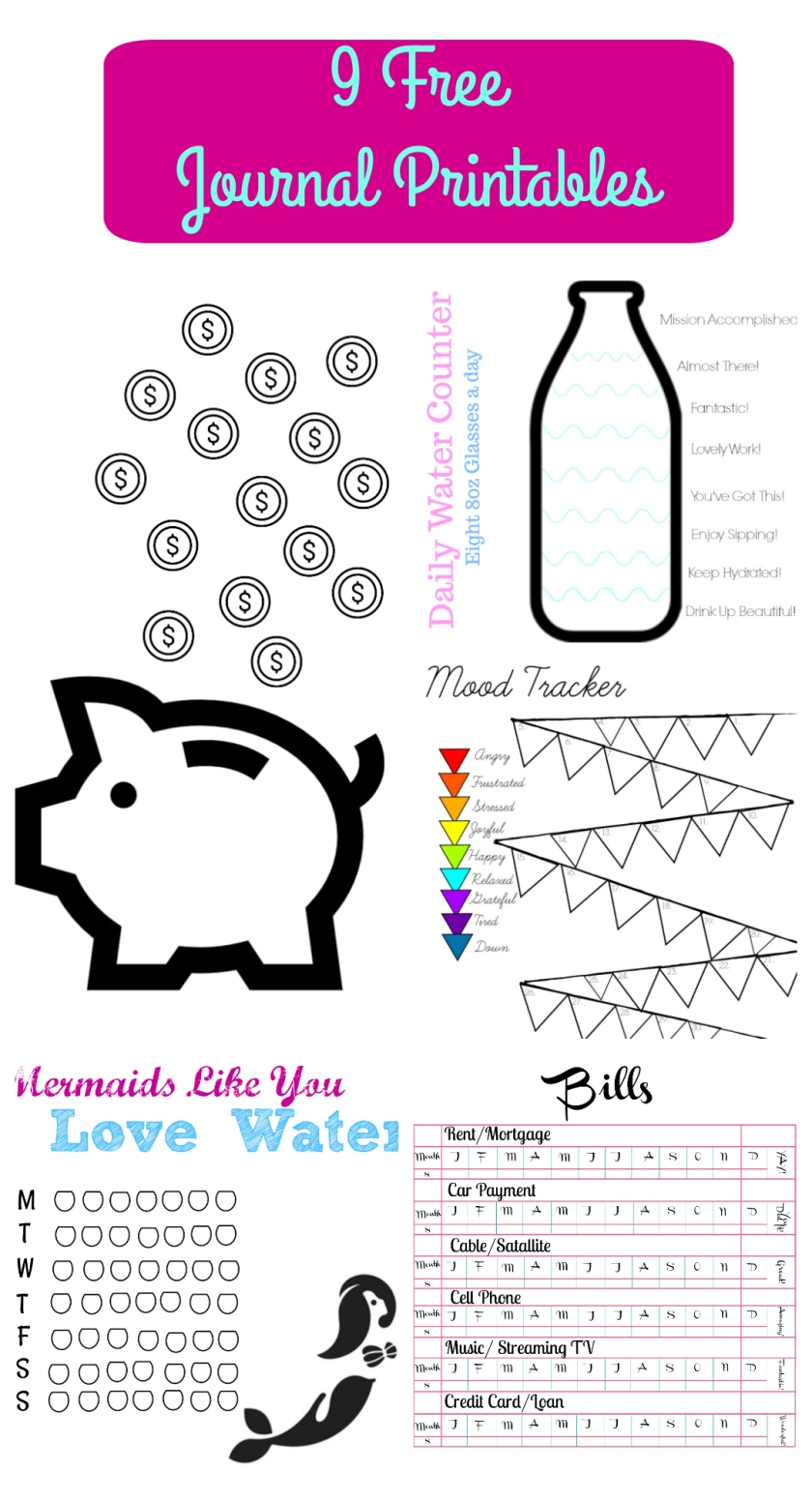 9 Free Journal Printables