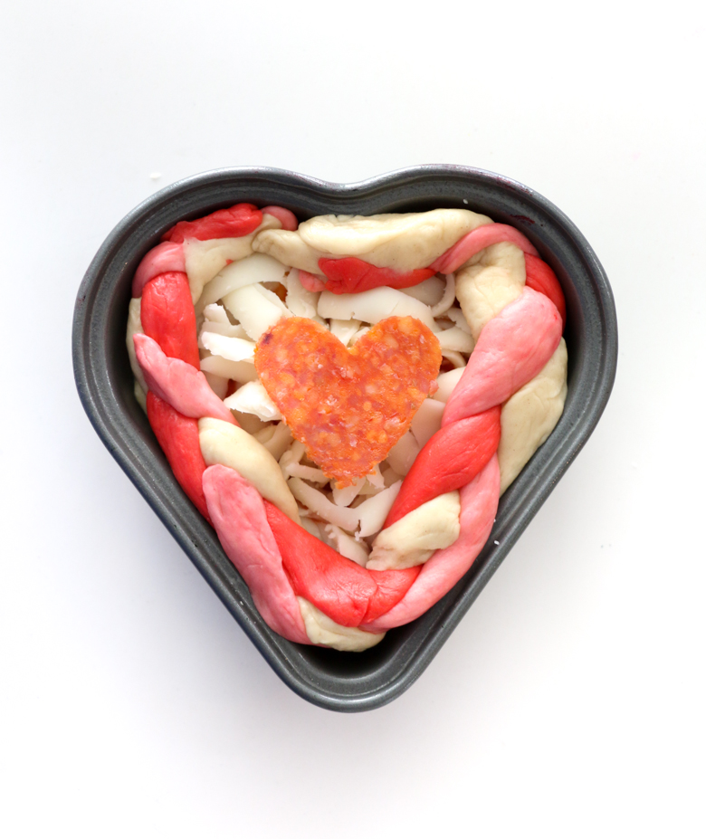 Heart Shaped Pizza-6