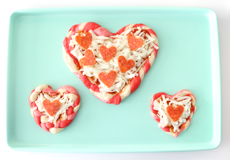 Heart Shaped Pizza-8