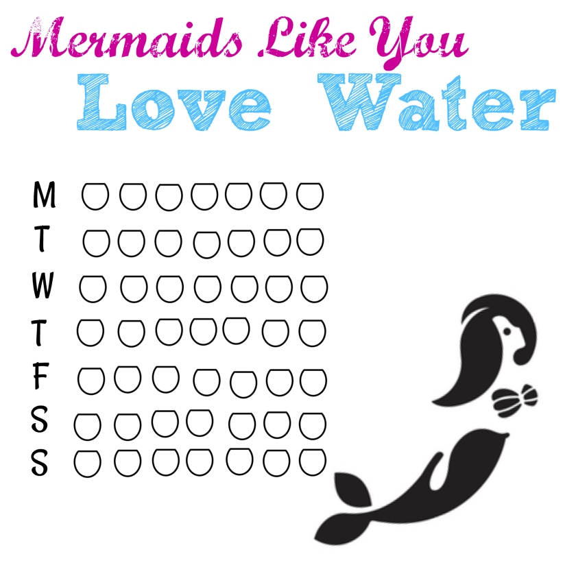 Mermaid Water Tracker