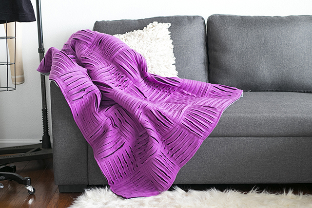Sew, Sip and Repeat Blanket