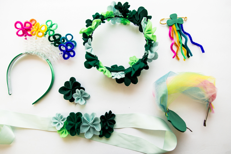 Cutesy St. Patty's Day Accessories