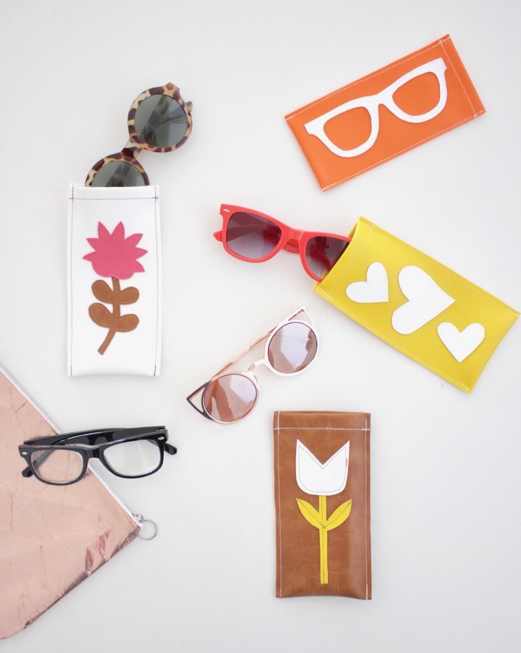 Simple, Sewn, Sunglasses Case